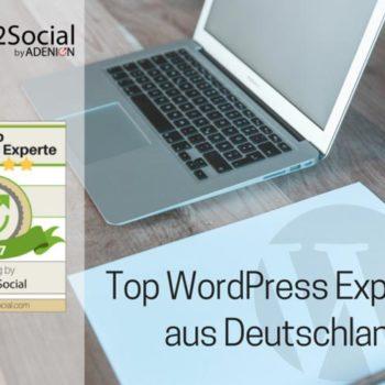 Liste WordPress Experten Deutschland