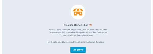 Storefront Theme fuer WooCommerce