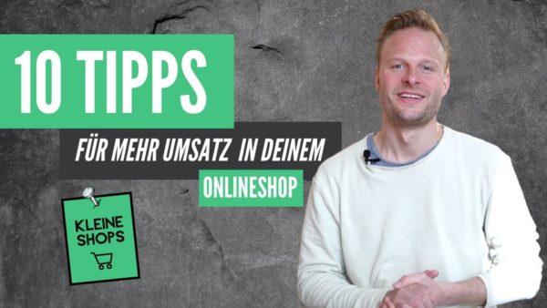 Umsatz kleiner Onlineshop 10 Tipps