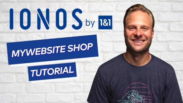 IONOS Mywebsite Shop Review
