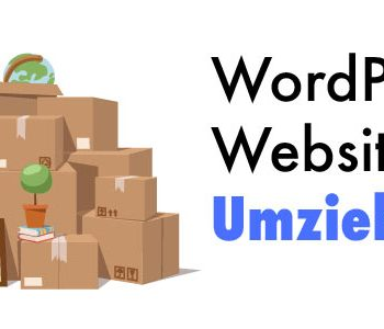 wordpress website umziehen